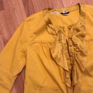 Mustard Yellow Blazer